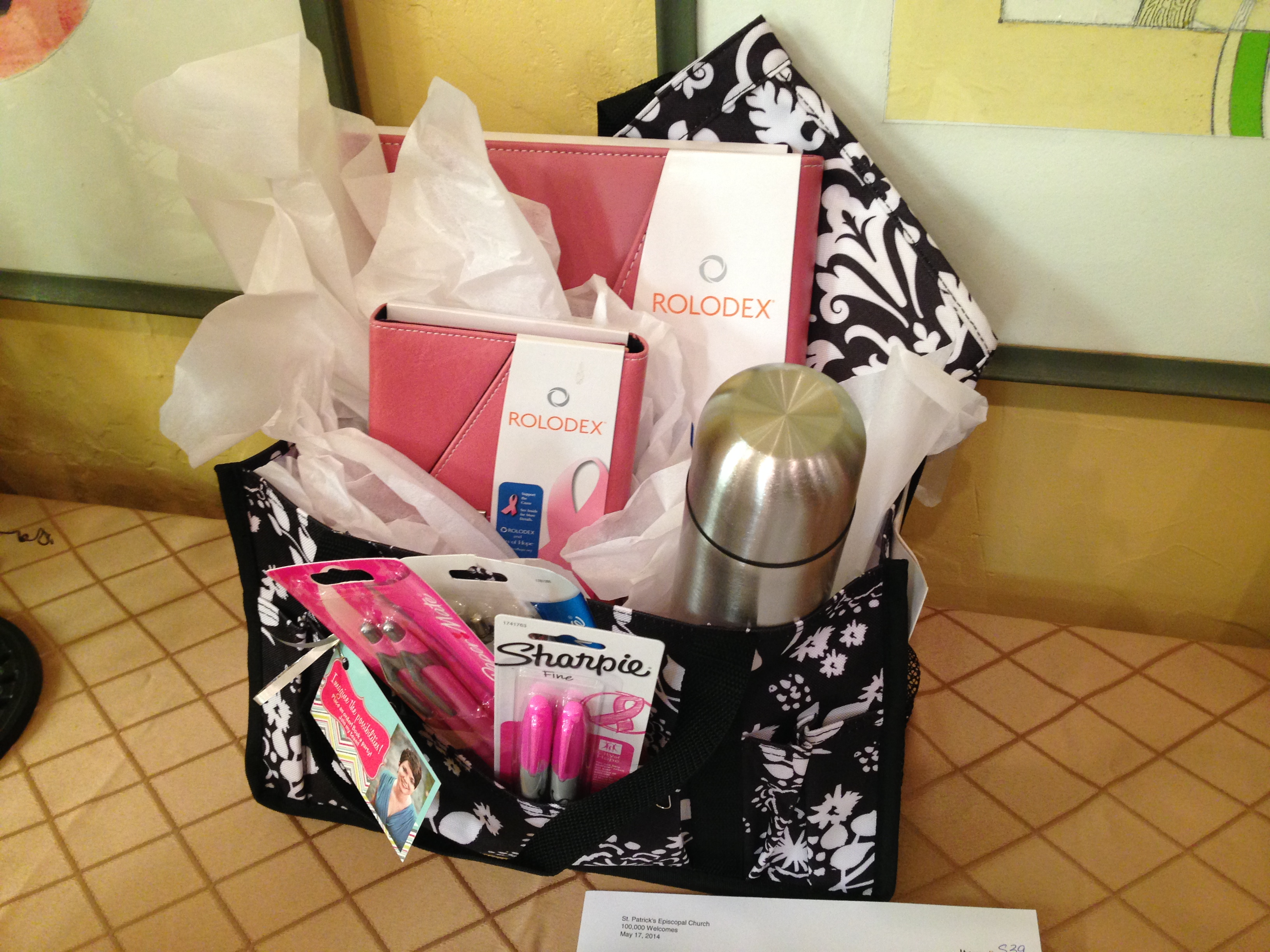 Raffle Basket Ideas - Linda Joyce Jones