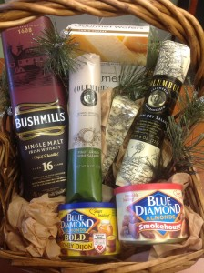 raffle basket for men