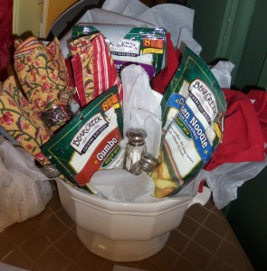 Basket Raffle Fundraiser - How It's Done - Linda Joyce Jones
