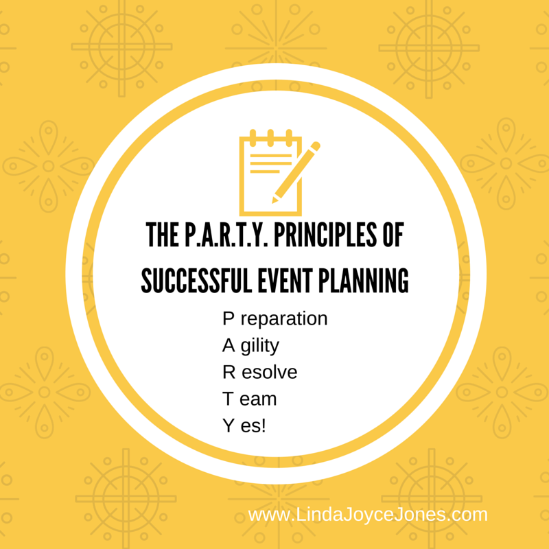 principles of successful event planning